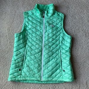 The North Face Mint Green Down Vest
